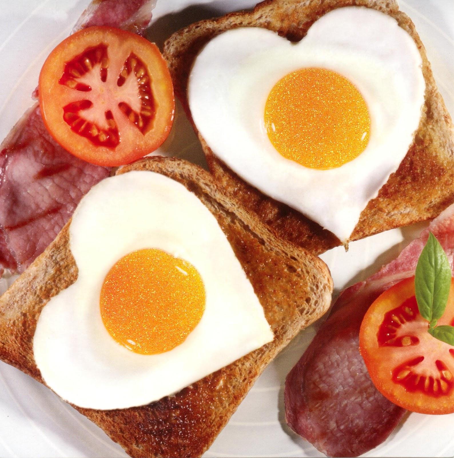 colazione amore toast