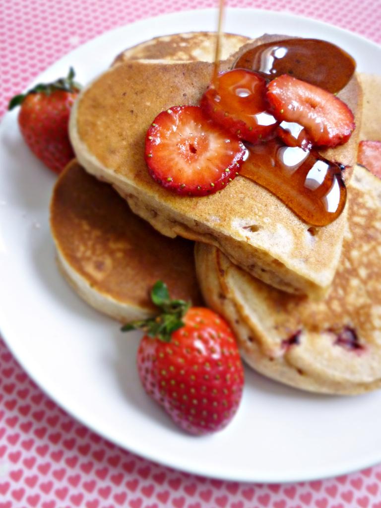pancake marmellata di fraglole