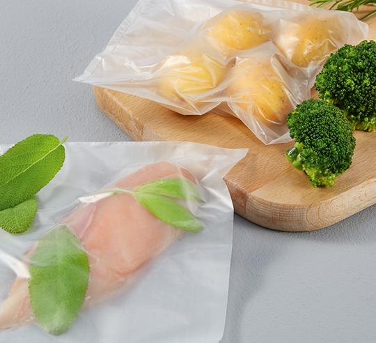 Alimenti sottovuoto per cottura a bassa temperatura
